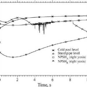 Schematic of the stand pipe and PSP sodium flows