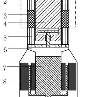 Free-piston Stirling generator structure diagram(1