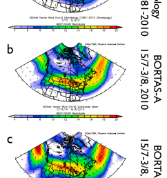 climatological mean 500 hpa wind vector m s 1 over north america download scientific diagram [ 706 x 1185 Pixel ]