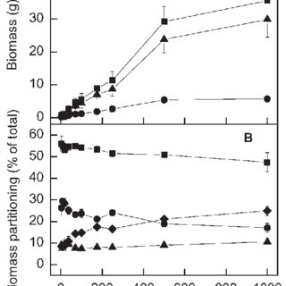 Changes in E. grandis seedling stem wood density in
