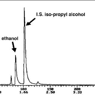 A headspace SPME–GC–MS chromatogram of cocaine volatiles
