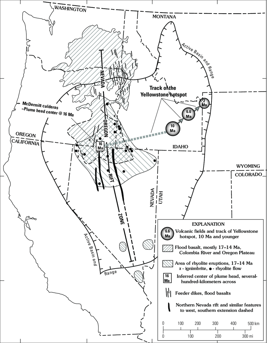 medium resolution of figure map of the western united states showing the track of the download scientific diagram