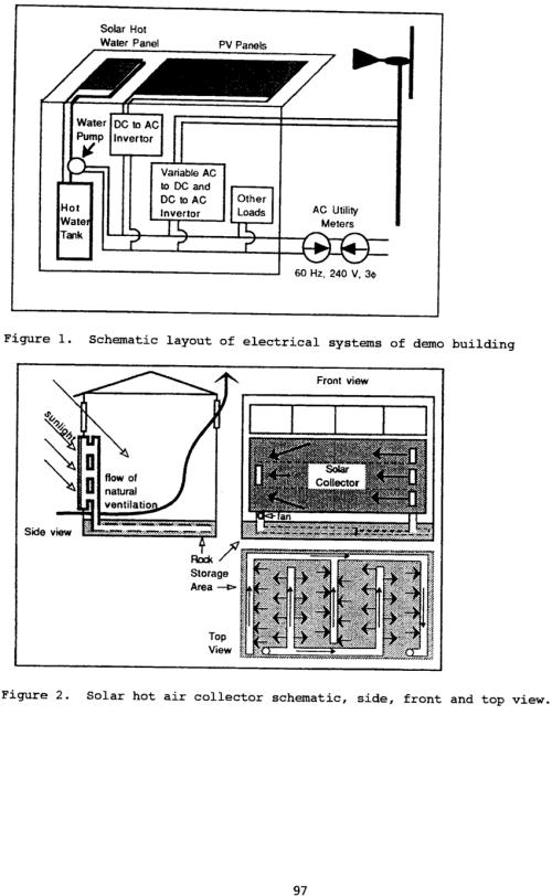 small resolution of schematic layout of electrical systems of demo building