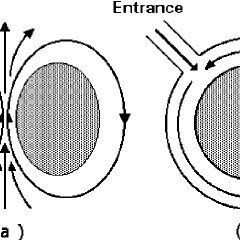 Schematic diagram of reentry in a 1D ring illustrating the