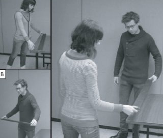 Stacy Lopresti Goodman And Robert Isenhower Demonstrate Action Modes In The Plank Moving Study