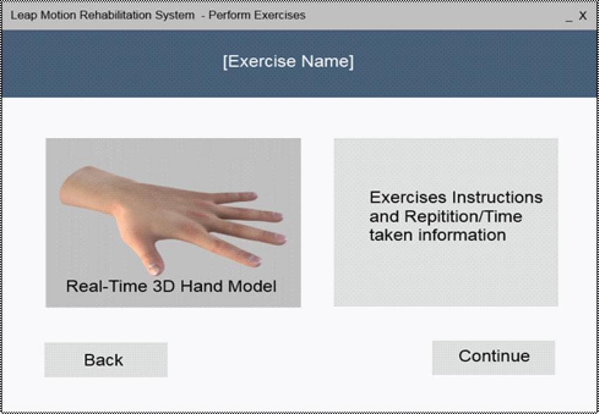 rehabilitation exercise screen download