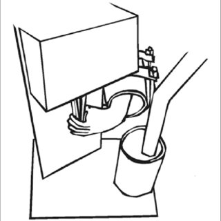 Illustration of the task apparatus used for the subjects