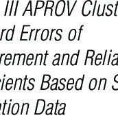 (PDF) Batterie III Woodcock Munoz Assessment Service