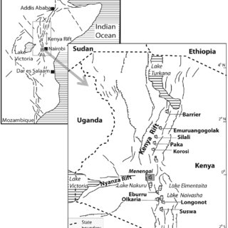 (a) Bouguer gravity anomaly map of the Menengai volcanic