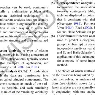 (PDF) Mammal Community Structure Analysis: Reconstructing
