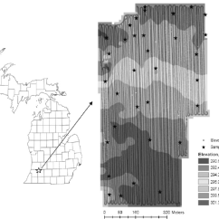 Soil Profile Diagram Of Michigan Mono Pump Wiring The Location Field On County Map Along With Elevation