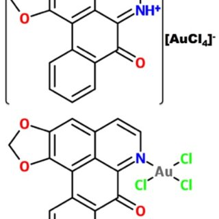 pH dependent equilibrium between the lactone and