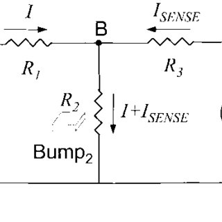 Four-terminal method: (a) Schematic view of contact