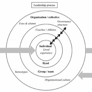 Multilevel conceptual model of leadership in sport