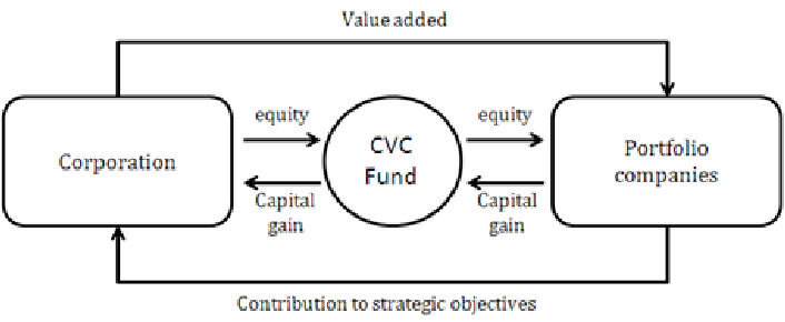 Typical Structure of Corporate Venture Capital (adapted