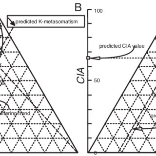 Chemiographic projection in the A-CN-K and A-CNK-FM