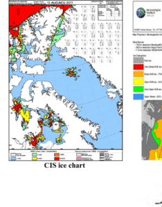 the figure show examples of ice charts from four national download scientific diagram also rh researchgate
