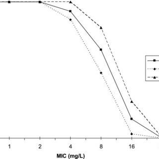 Correlation between amoxicillin actual measured