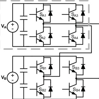 Cascade H-bridge converter based on the series connection