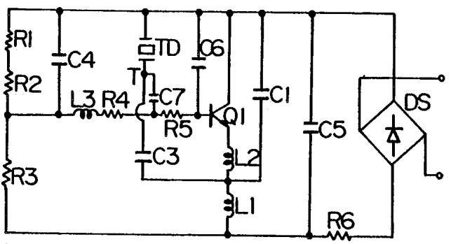 Ultrasonic generator circuit atomized liquid or number of
