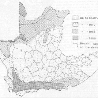1: The location of the Baviaanskloof Mega-Reserve Planning