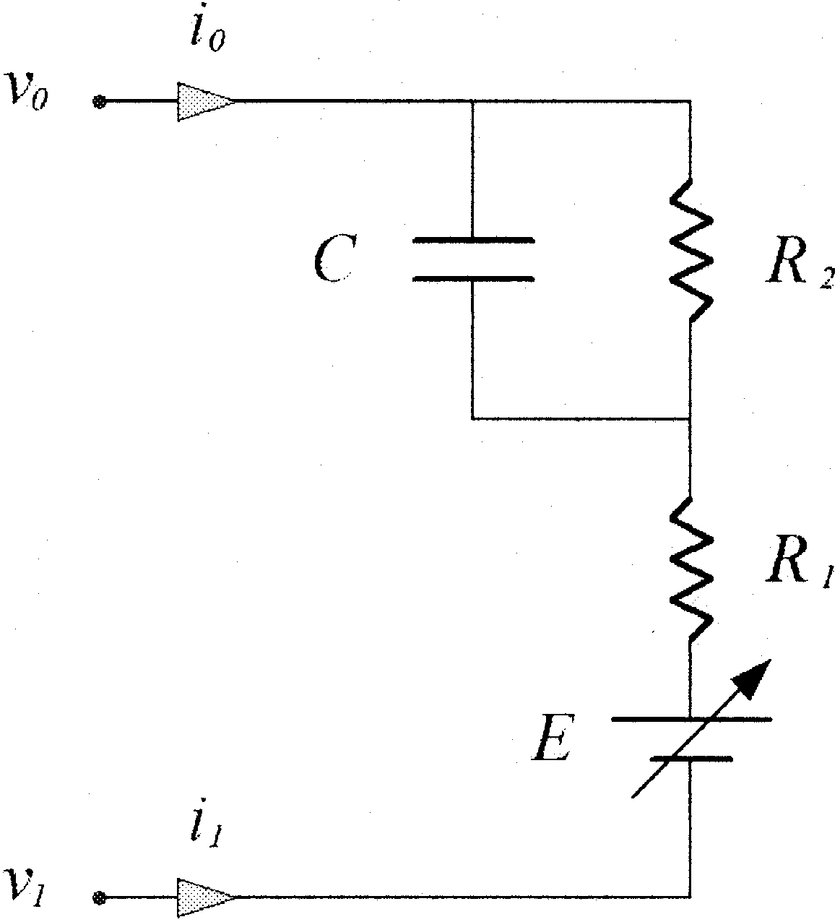 Equivalent circuit representation of lithium-ion battery
