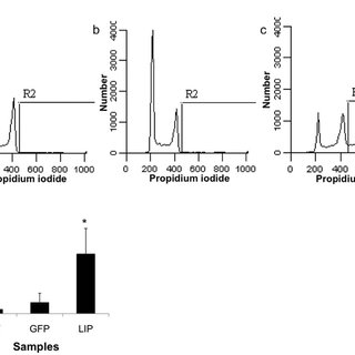 GFP positive LIP-expressing MDA-MB-468 cells were mixed