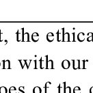 (PDF) The dynamics of ethical judgment: an essay of