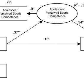 (PDF) PERCEIVED SPORTS COMPETENCE MEDIATES THE