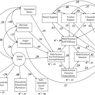Social cognitive career theory model of career choice