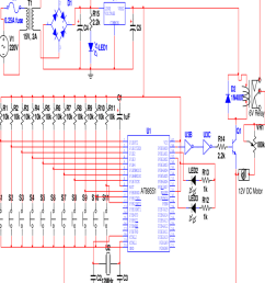 complete circuit diagram of an automatic school bell  [ 850 x 998 Pixel ]