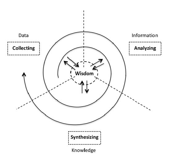 CAS Model of the knowledge management process in auditing