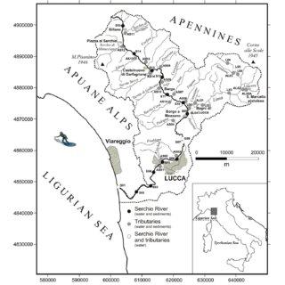 (PDF) The Serchio River catchment, northern Tuscany