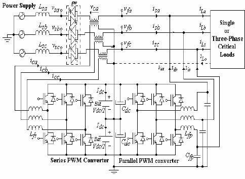 Ups Single Line Diagram Generator Automatic Transfer
