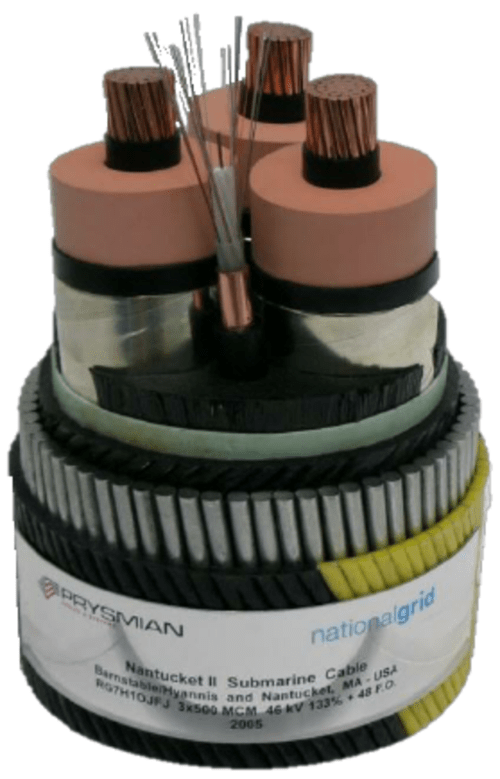 small resolution of hv submarine cable wet design with epr insulation a similar design is being