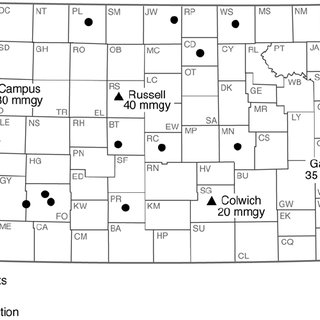 —Existing and proposed wind-energy projects in Kansas, as