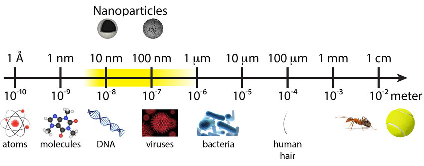 1: One dimension of a nanomaterial should be in the 1-100 nm range. As...   Download Scientific Diagram