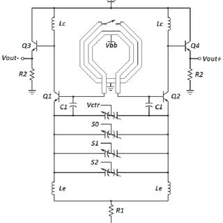Equivalent circuit of switched coupled inductors in ON and