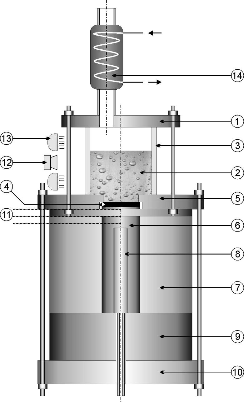 medium resolution of the diagram of the basic module of the experimental stand 1 upper lid