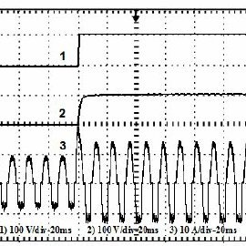 A buck converter with two-quadrant switches and