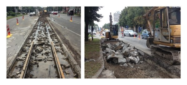 The Effect of Rail Fastening System Modifications on Tram