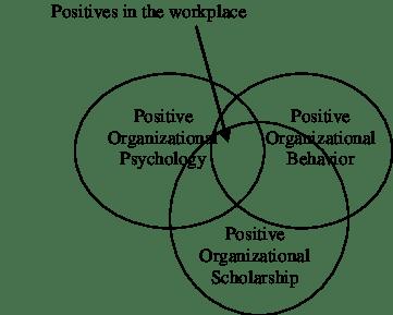 Relationships between positive organizational psychology
