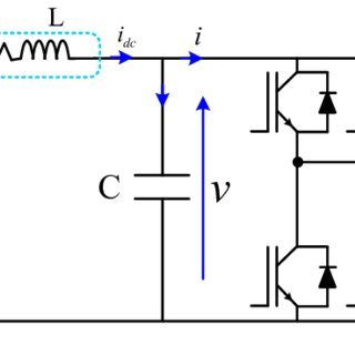 APF utilizing split-capacitor topology for three-phase