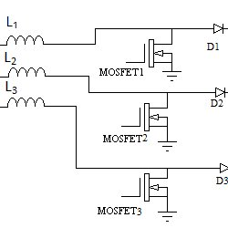 Circuit Diagram of the Operating Modes of Three Phase