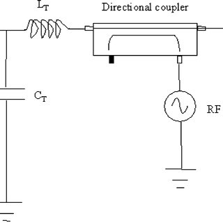 Schematic diagram of the simulated reflection RF-SET