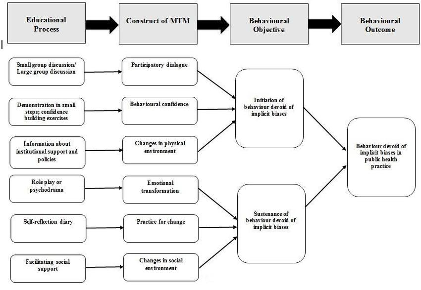 Diagrammatic depiction of how multi-theory model for