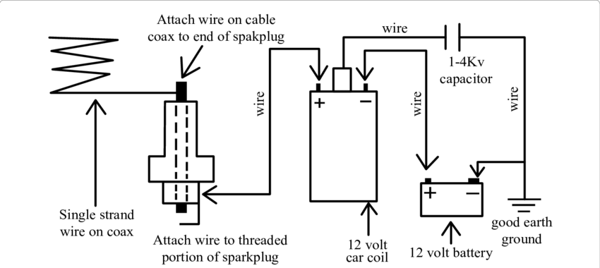 Technical circuit diagram to charge a battery for example