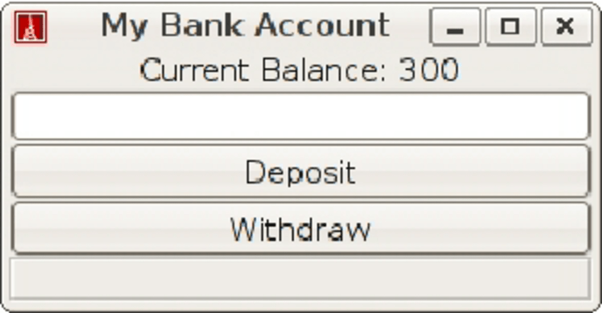 Screenshot Of The Bank Account Application User Is Able To Deposit And Download Scientific Diagram