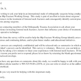 PDF Does flattery work A comparison of 2 different cover letters for an international survey