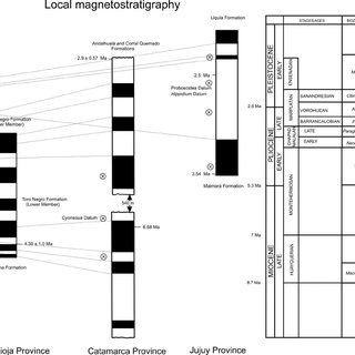(PDF) Late Cenozoic mammals from the Northwest of Argentina